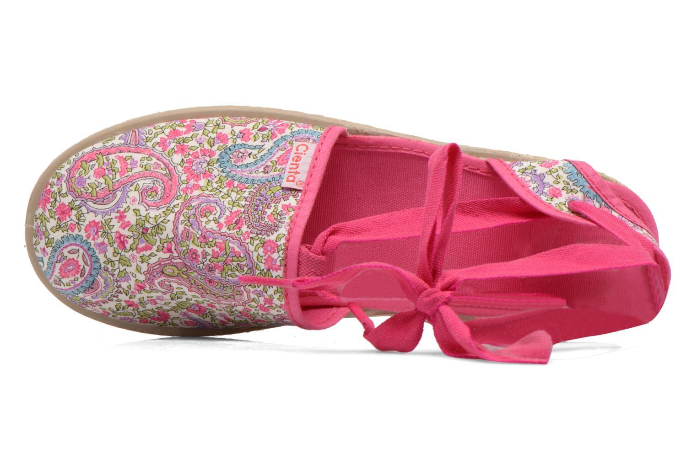 Sandales et nu-pieds Cienta Alicia Rose vue gauche