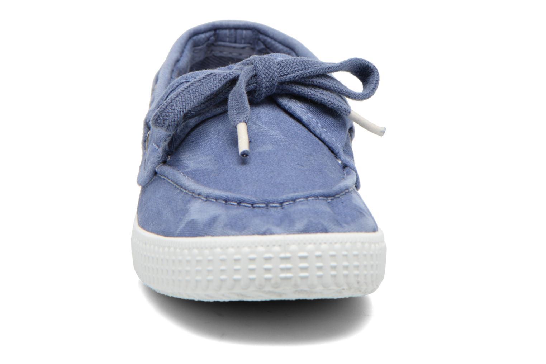 Chaussures à lacets Cienta Martino Bleu vue portées chaussures