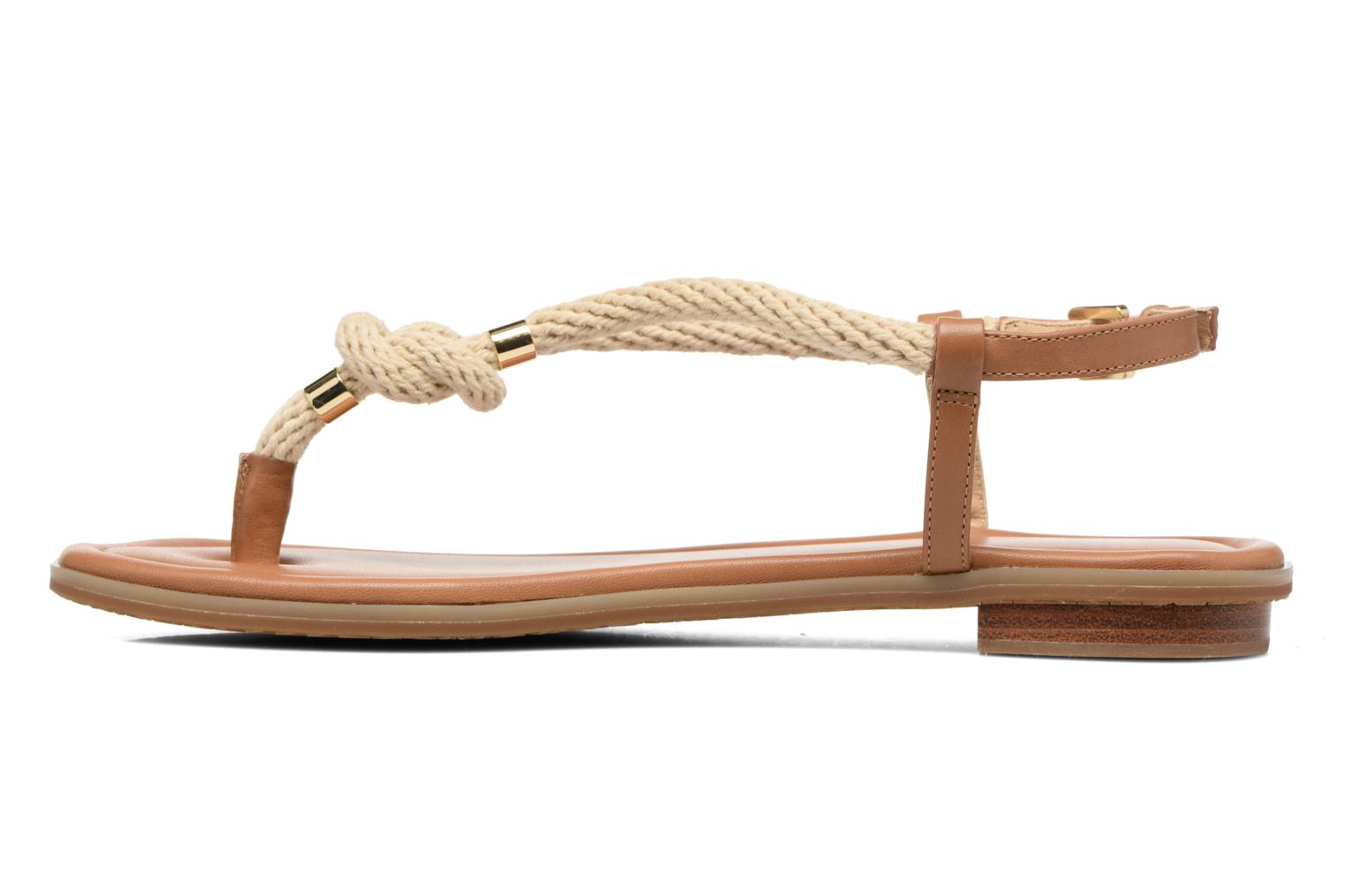 Sandalias Michael Michael Kors Holly Sandal Marrón vista de frente