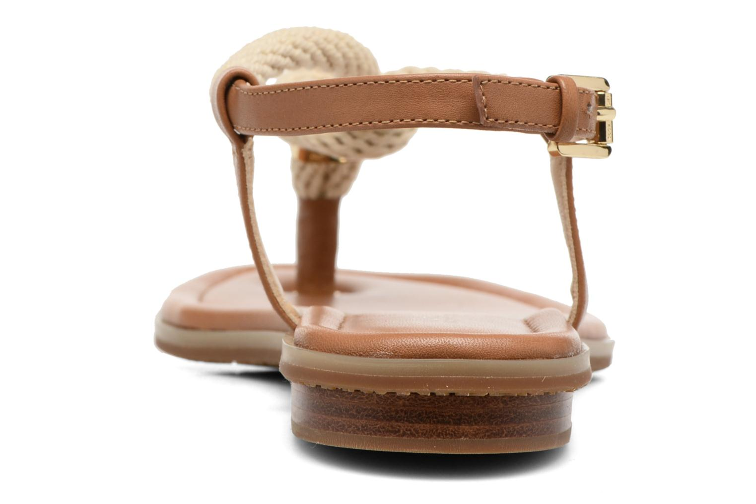 Sandals Michael Michael Kors Holly Sandal Brown view from the right