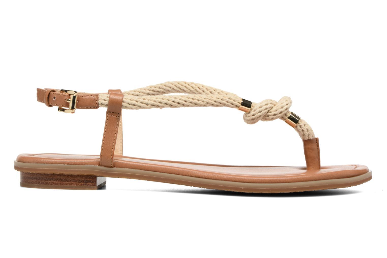 Sandales et nu-pieds Michael Michael Kors Holly Sandal Marron vue derrière