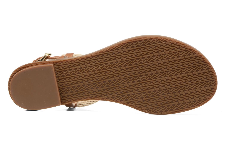 Sandales et nu-pieds Michael Michael Kors Holly Sandal Marron vue haut