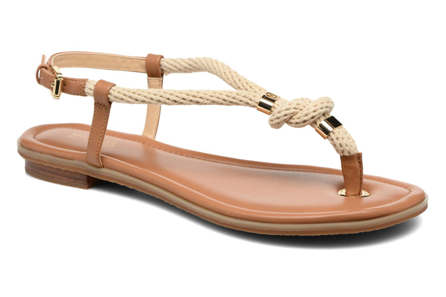 Sandals Michael Michael Kors Holly Sandal Brown detailed view/ Pair view