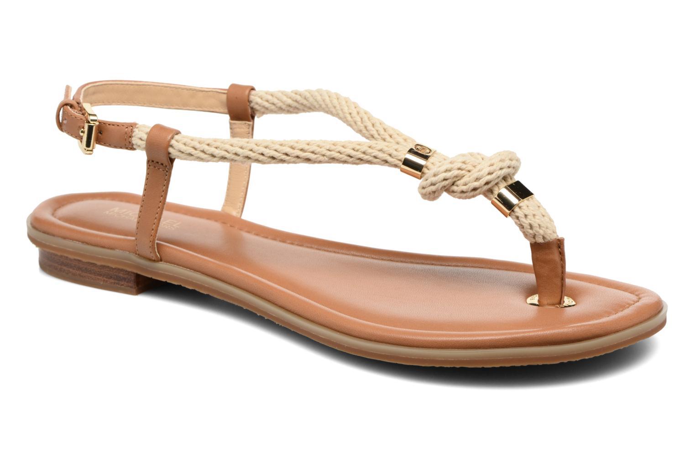 Sandales et nu-pieds Michael Michael Kors Holly Sandal Marron vue détail/paire