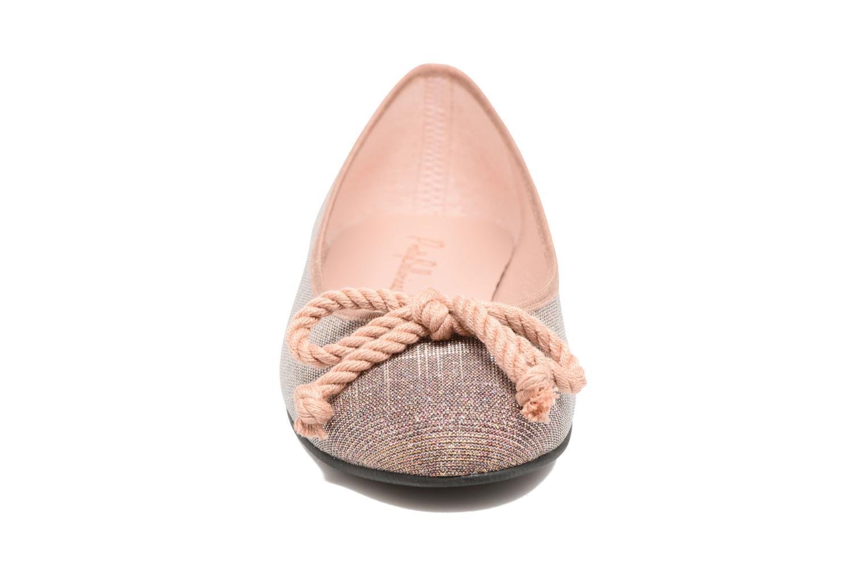 Ballerines Pretty Ballerinas Rosario Rose vue portées chaussures