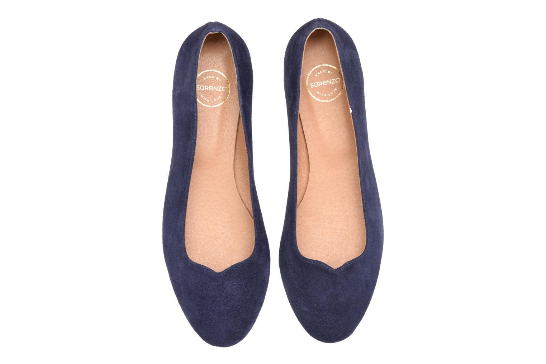 Ballerines Made by SARENZA Colette en terrasse #4 Bleu vue portées chaussures