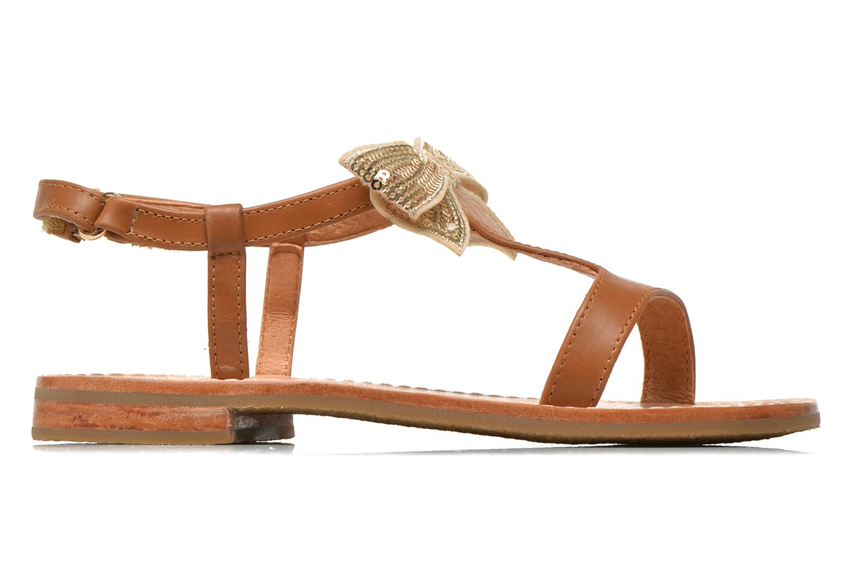 Sandals Mellow Yellow Mnvablist Brown back view