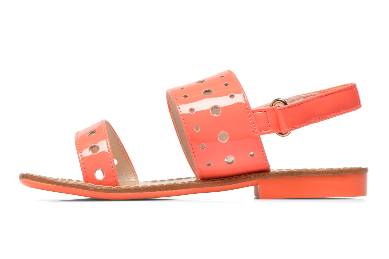 Sandals Mellow Yellow Mnvadina Pink front view