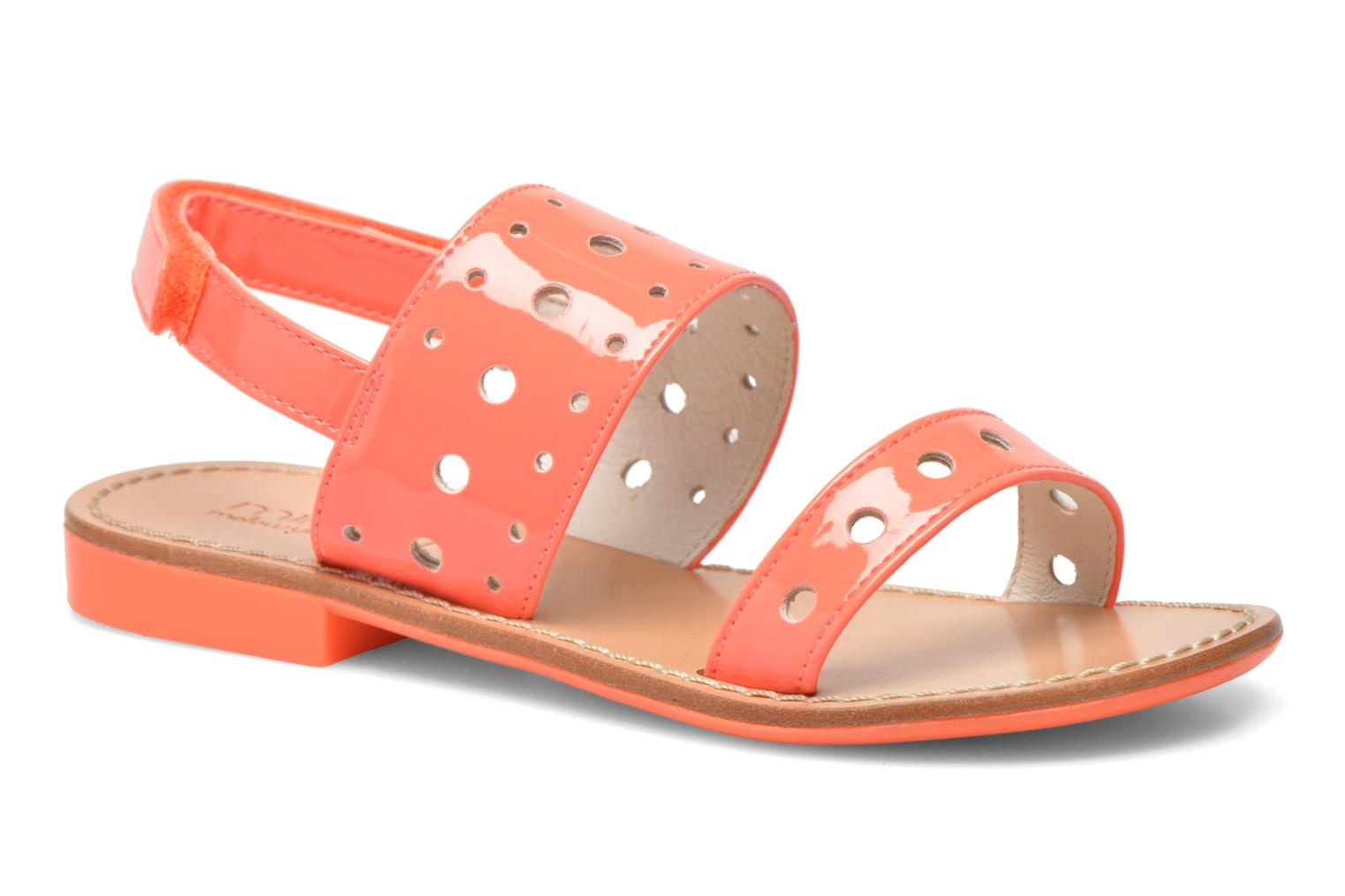 Sandals Mellow Yellow Mnvadina Pink detailed view/ Pair view