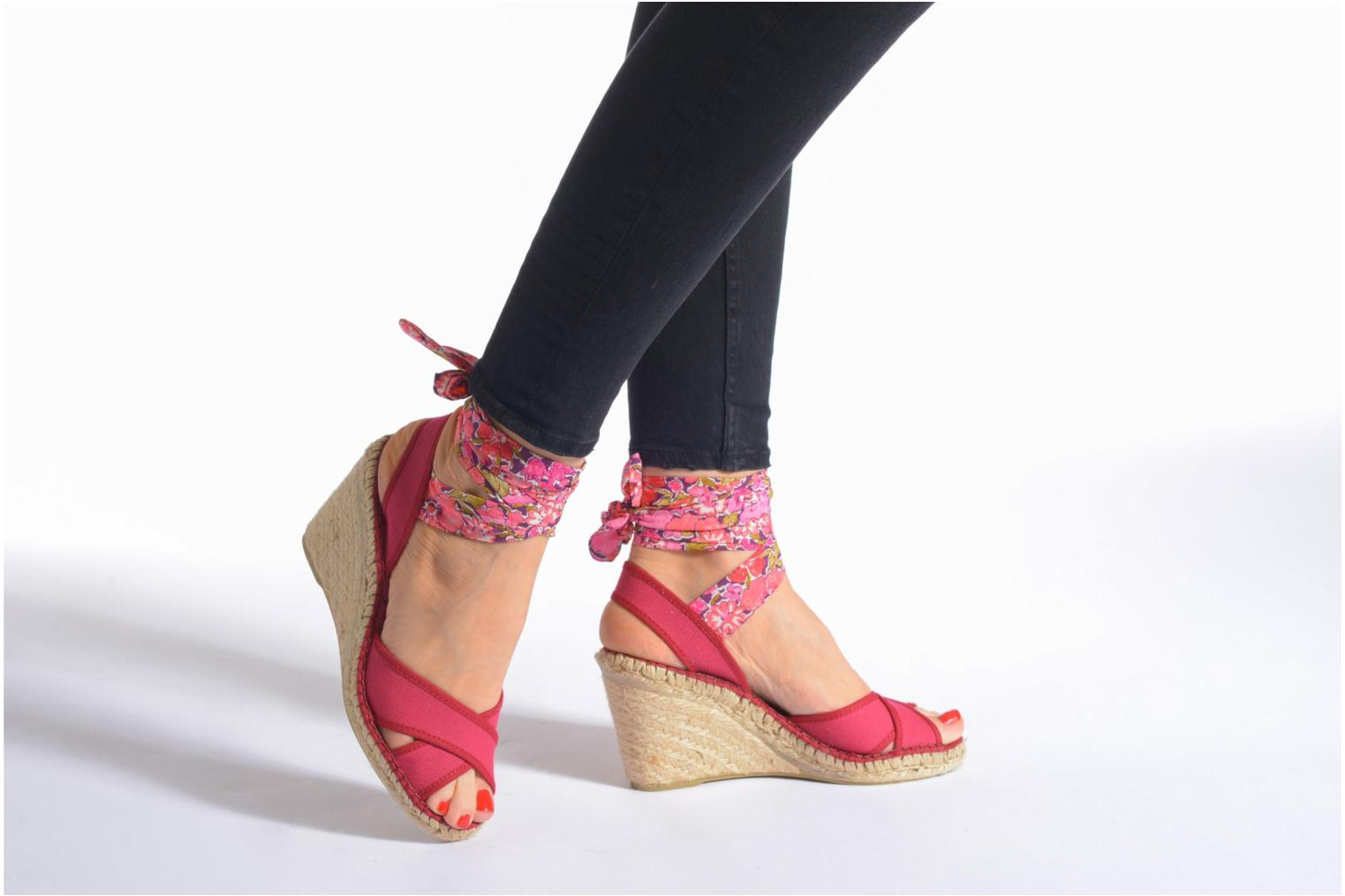 Sandals Pare Gabia Kerine Pink view from underneath / model view