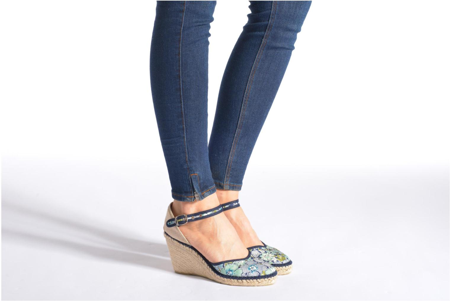Sandals Pare Gabia Katy Multicolor view from underneath / model view