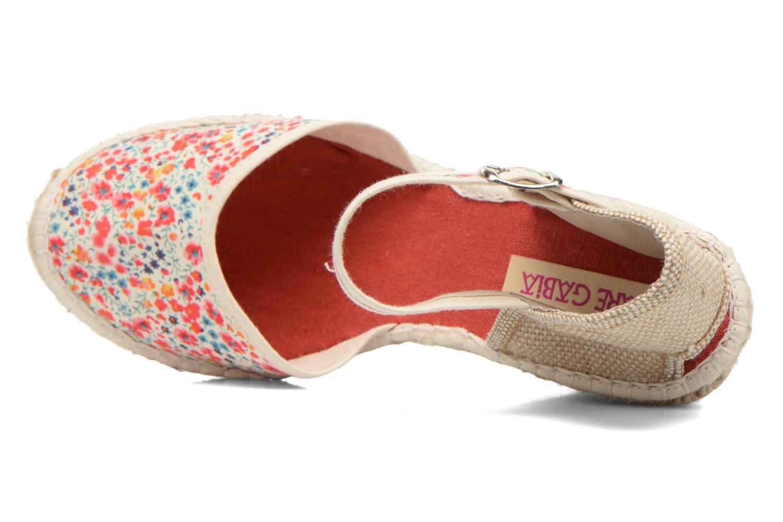 Sandales et nu-pieds Pare Gabia Katy Multicolore vue gauche