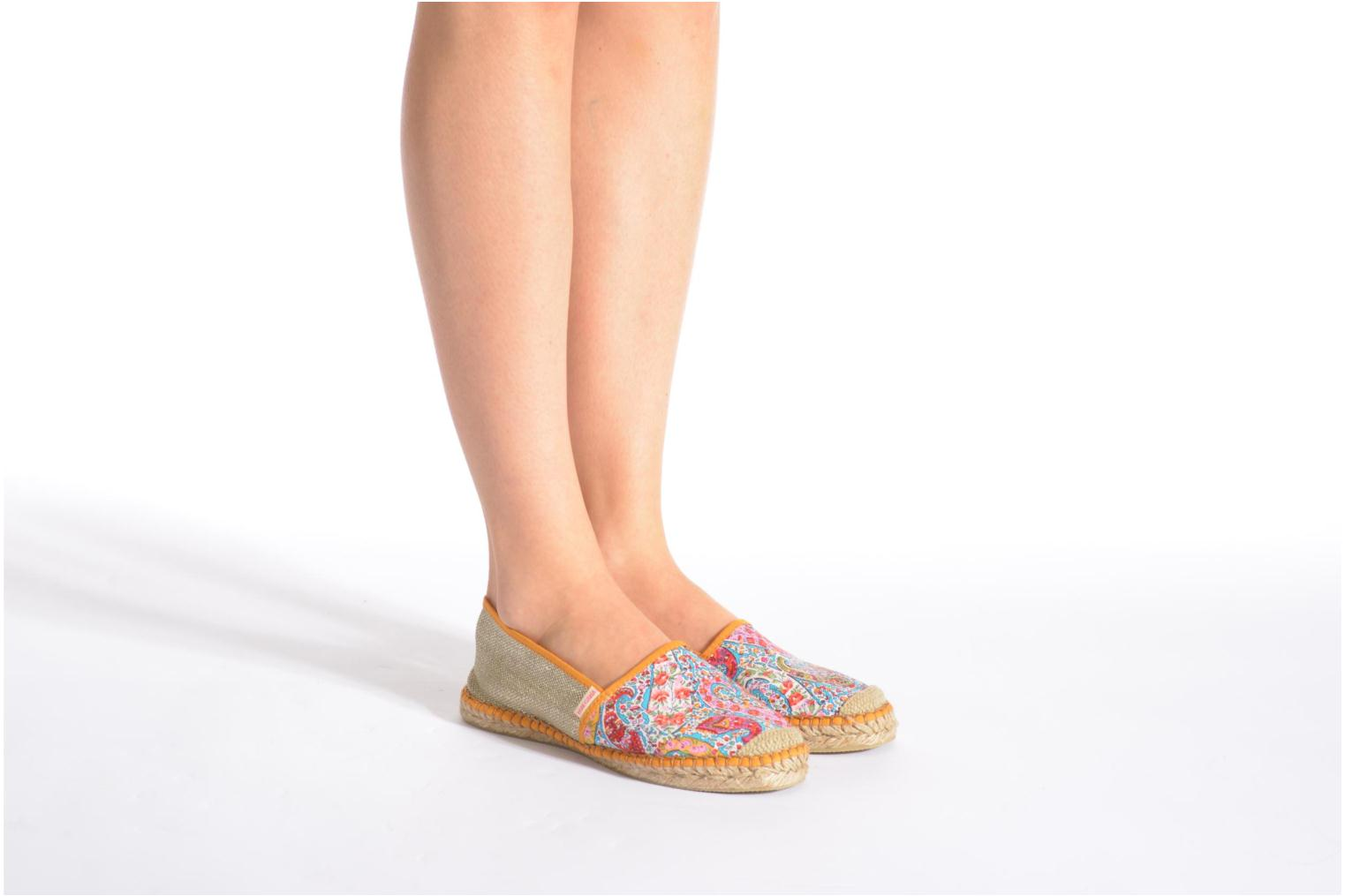 Espadrilles Pare Gabia VP mix Multicolor view from underneath / model view