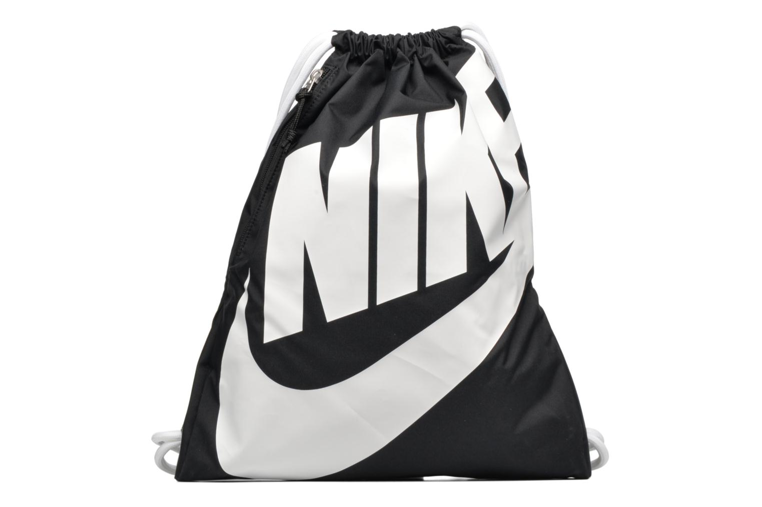 Sports bags Nike NIKE HERITAGE GYMSACK Black detailed view/ Pair view