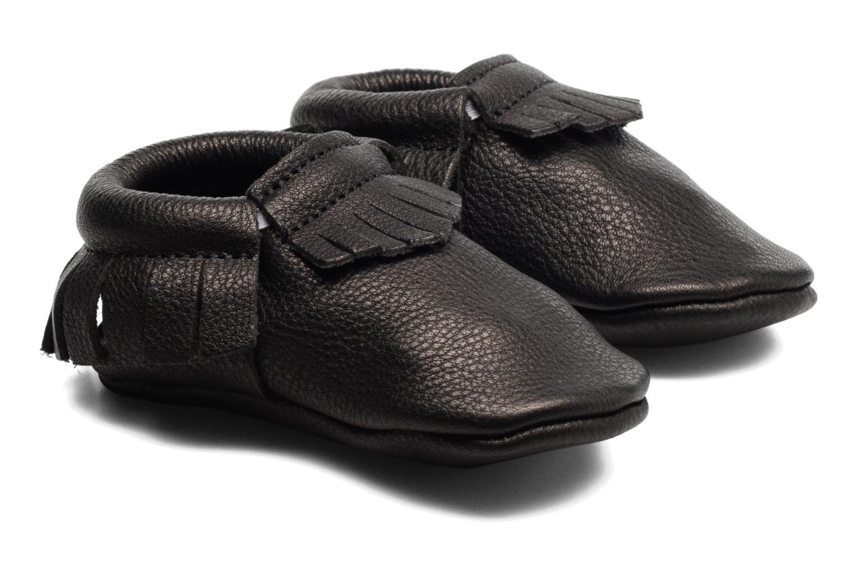 Chaussons Hippie Ya Mocassins Noir vue portées chaussures