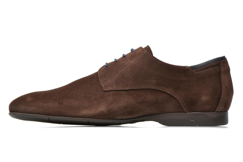 Zapatos con cordones Fluchos Ezzio 9353 Marrón vista de frente