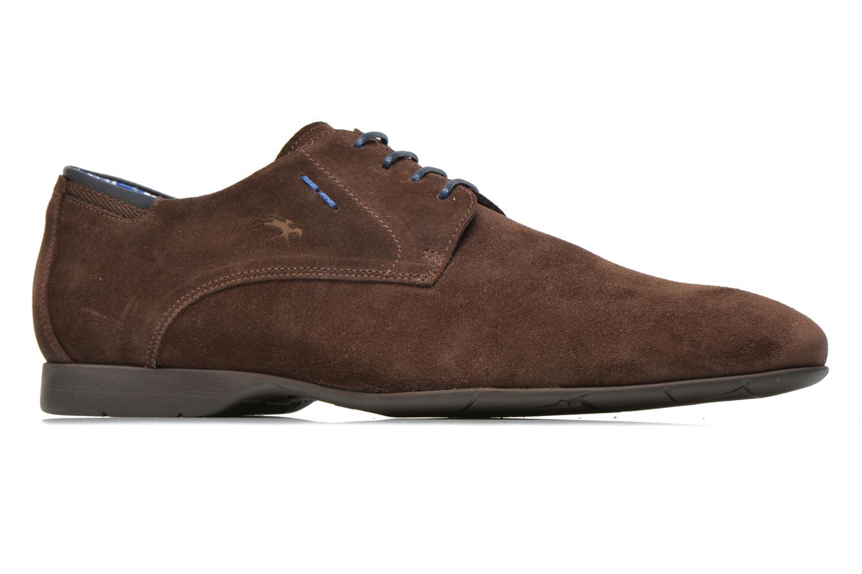 Chaussures à lacets Fluchos Ezzio 9353 Marron vue derrière