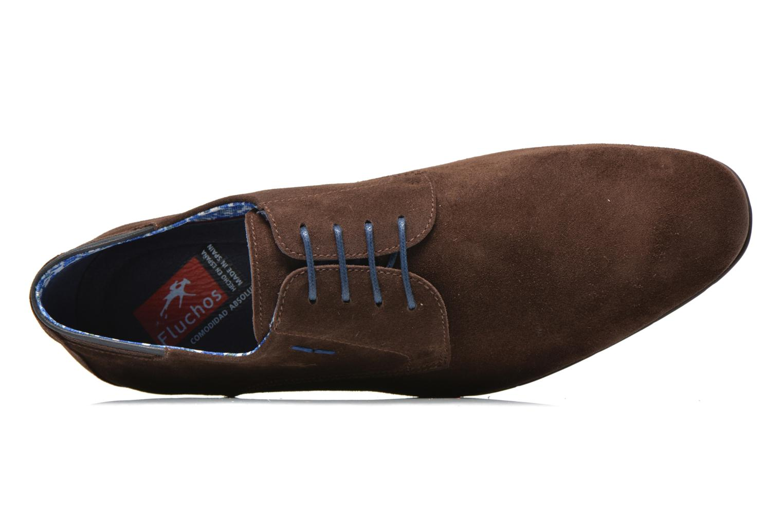 Chaussures à lacets Fluchos Ezzio 9353 Marron vue gauche