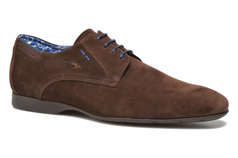Fluchos - Zapatos de cordones para hombre, marrón (café), 40