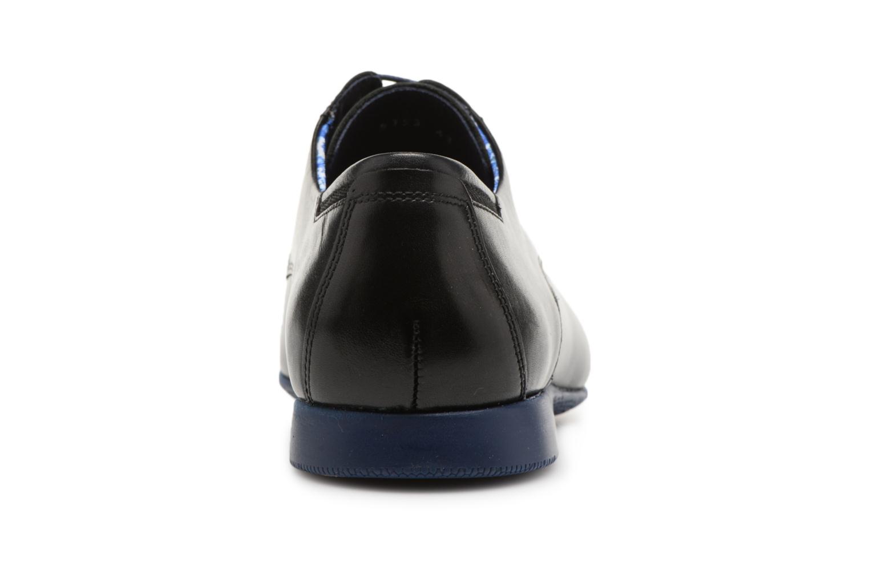 Chaussures à lacets Fluchos Ezzio 9353 Noir vue droite