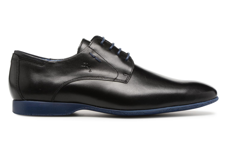 Chaussures à lacets Fluchos Ezzio 9353 Noir vue derrière