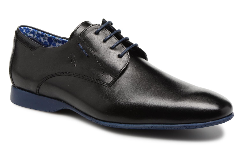 Chaussures à lacets Fluchos Ezzio 9353 Noir vue détail/paire