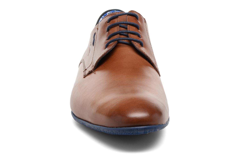 Chaussures à lacets Fluchos Ezzio 9353 Marron vue portées chaussures