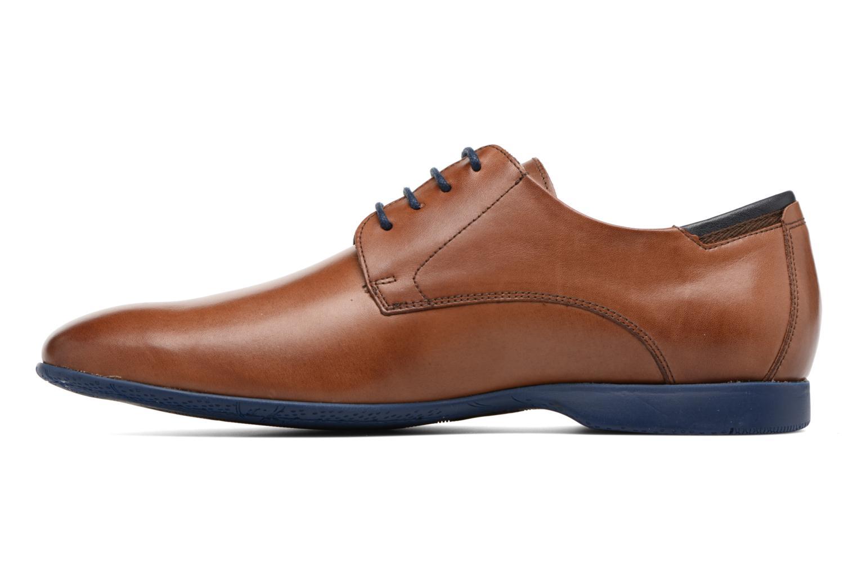 Lace-up shoes Fluchos Ezzio 9353 Brown front view