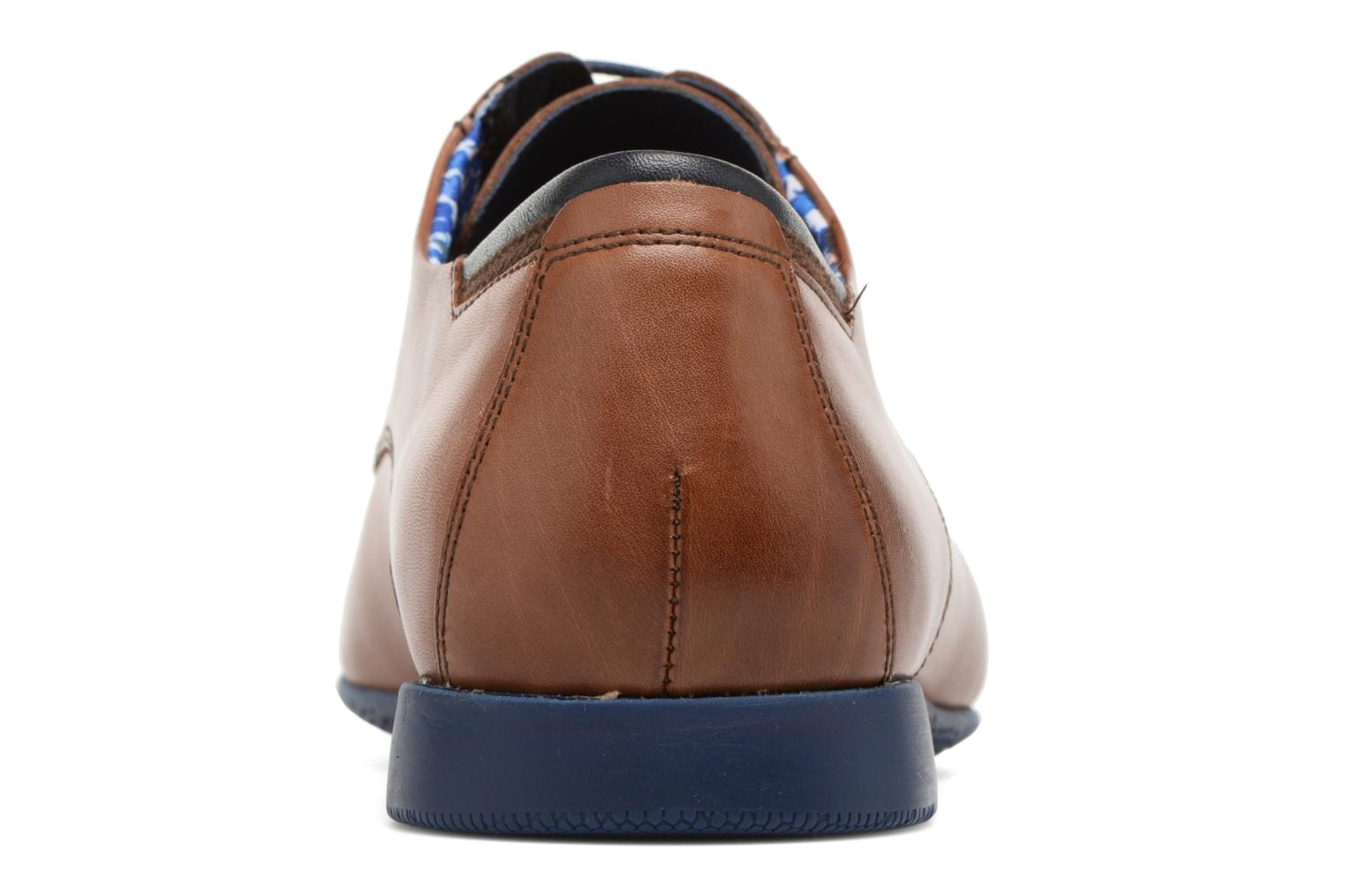 Lace-up shoes Fluchos Ezzio 9353 Brown view from the right