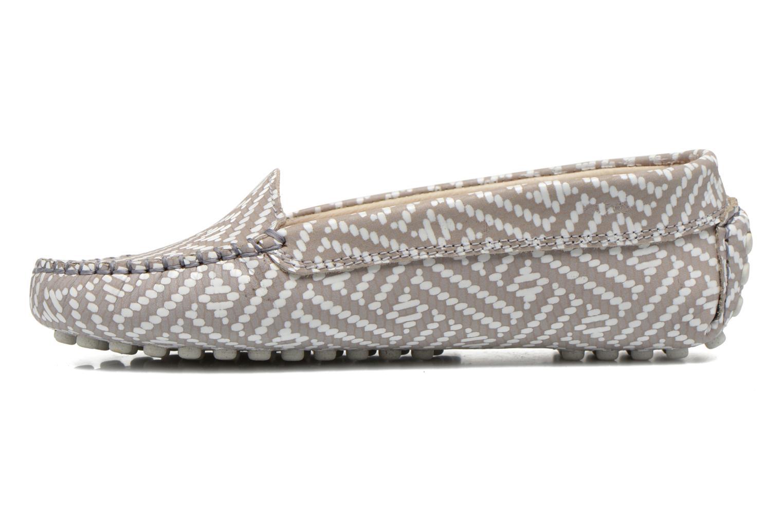 Loafers Manuela de Juan Bidai Grey front view