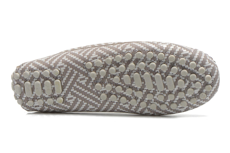 Loafers Manuela de Juan Bidai Grey view from above