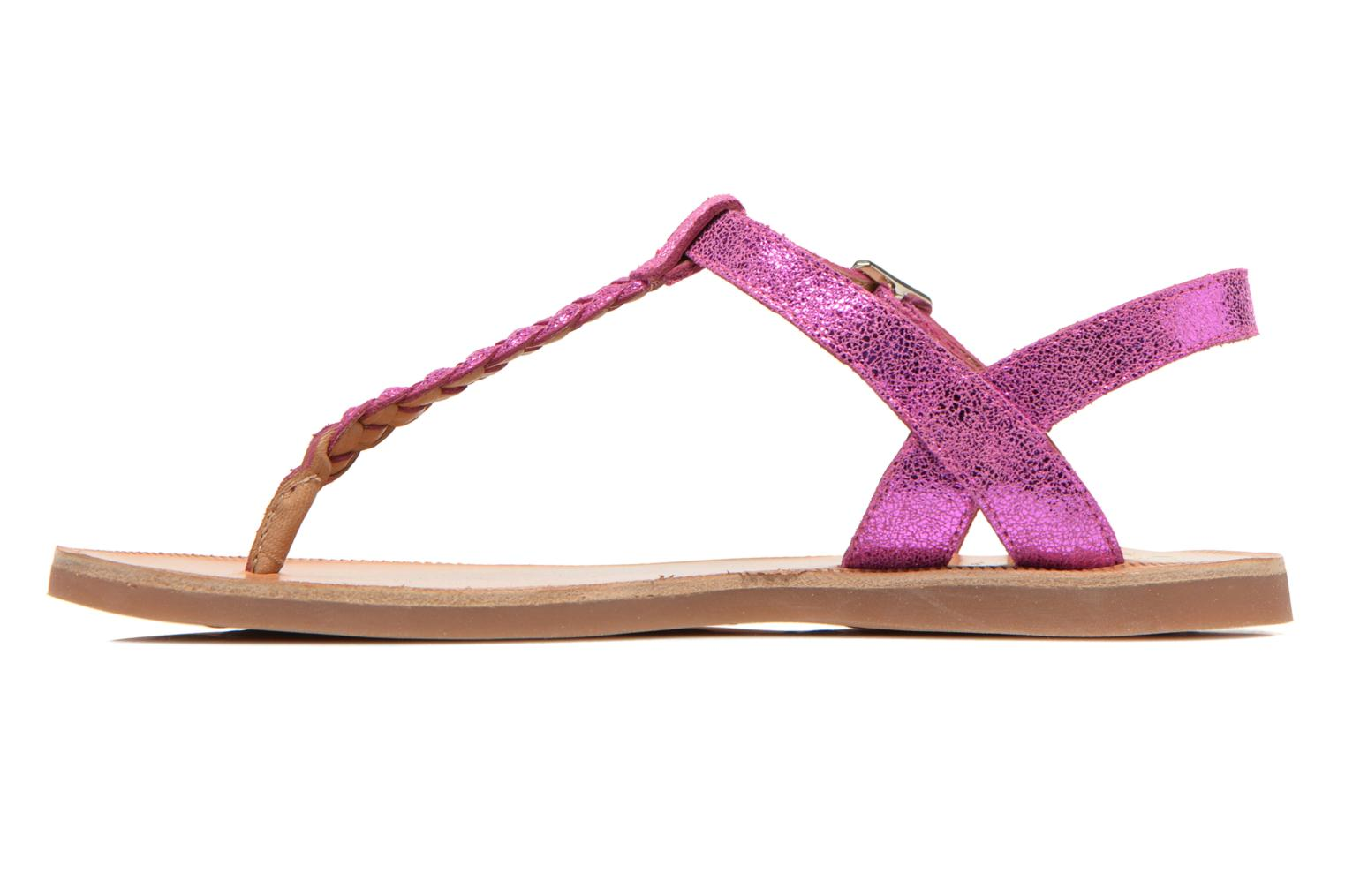 Sandals Pom d Api Plagette Antic Tong Pink front view