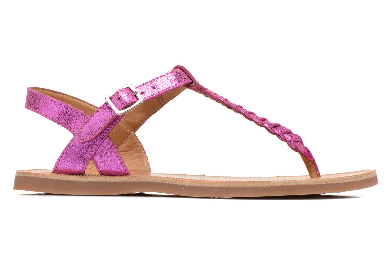 Sandals Pom d Api Plagette Antic Tong Pink back view