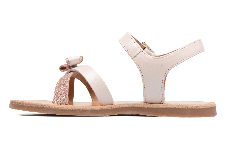 Sandales et nu-pieds Pom d Api Plagette New Knot Rose vue face