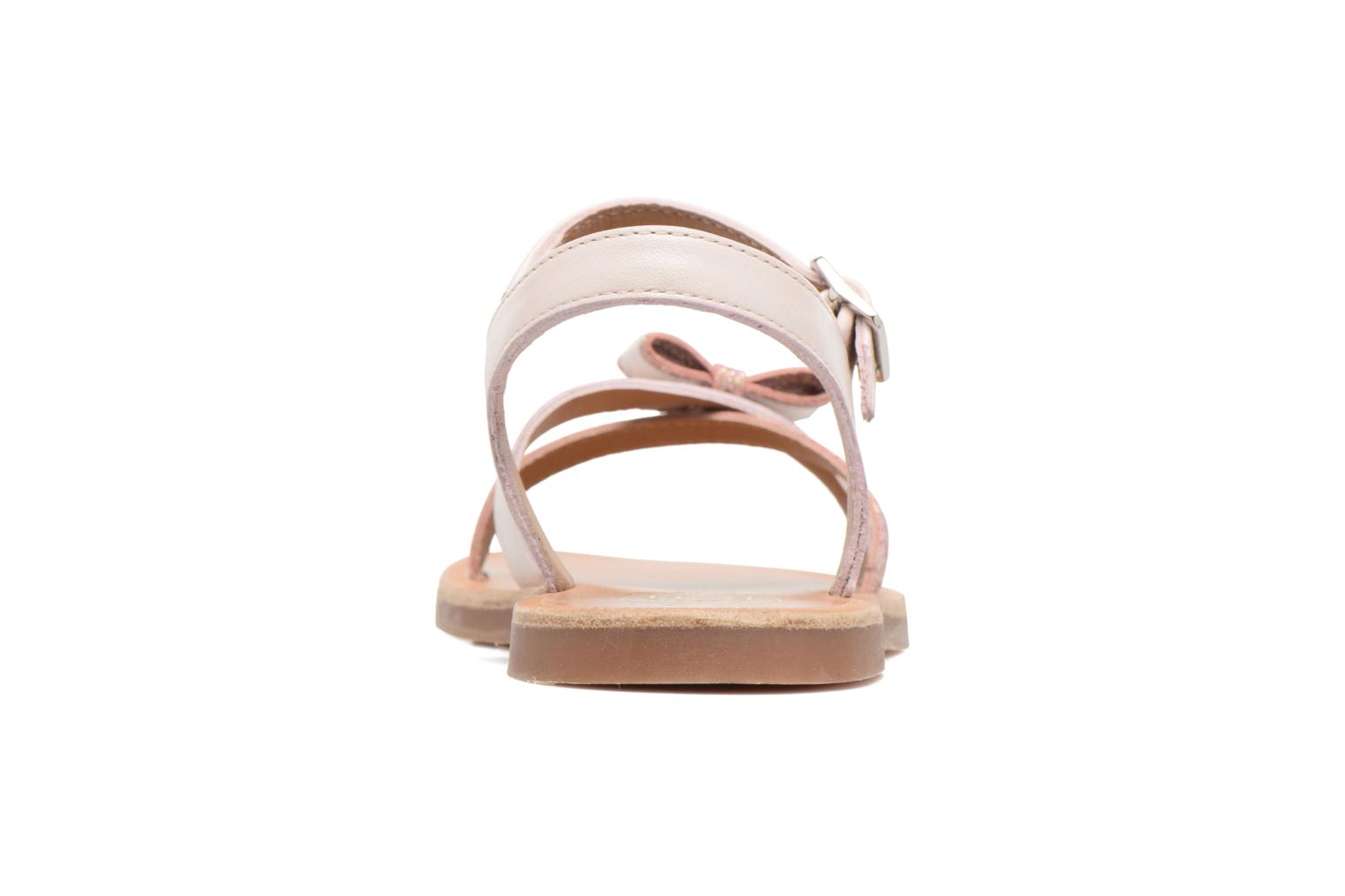 Sandals Pom d Api Plagette New Knot Pink view from the right