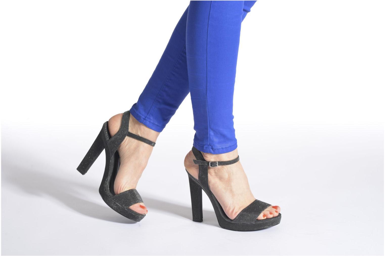 Sandalen Blink Keel lila ansicht von unten / tasche getragen