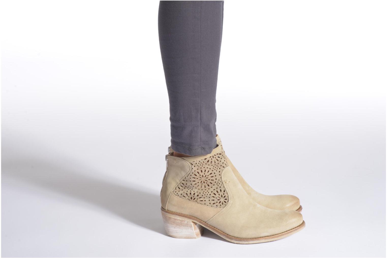 Bottines et boots Khrio Aeligana Or et bronze vue bas / vue portée sac