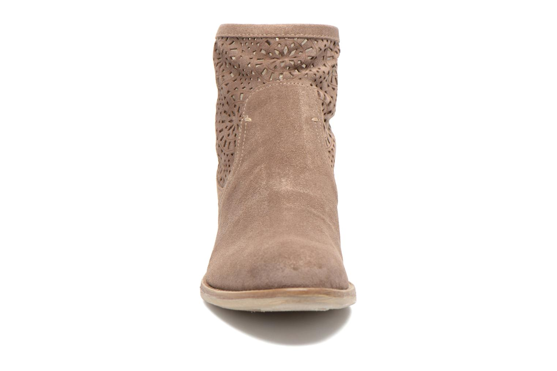 Bottines et boots Khrio Aeligana Or et bronze vue portées chaussures