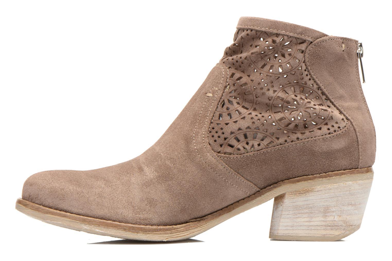 Bottines et boots Khrio Aeligana Or et bronze vue face