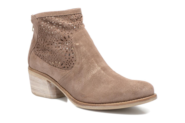 Bottines et boots Khrio Aeligana Or et bronze vue détail/paire