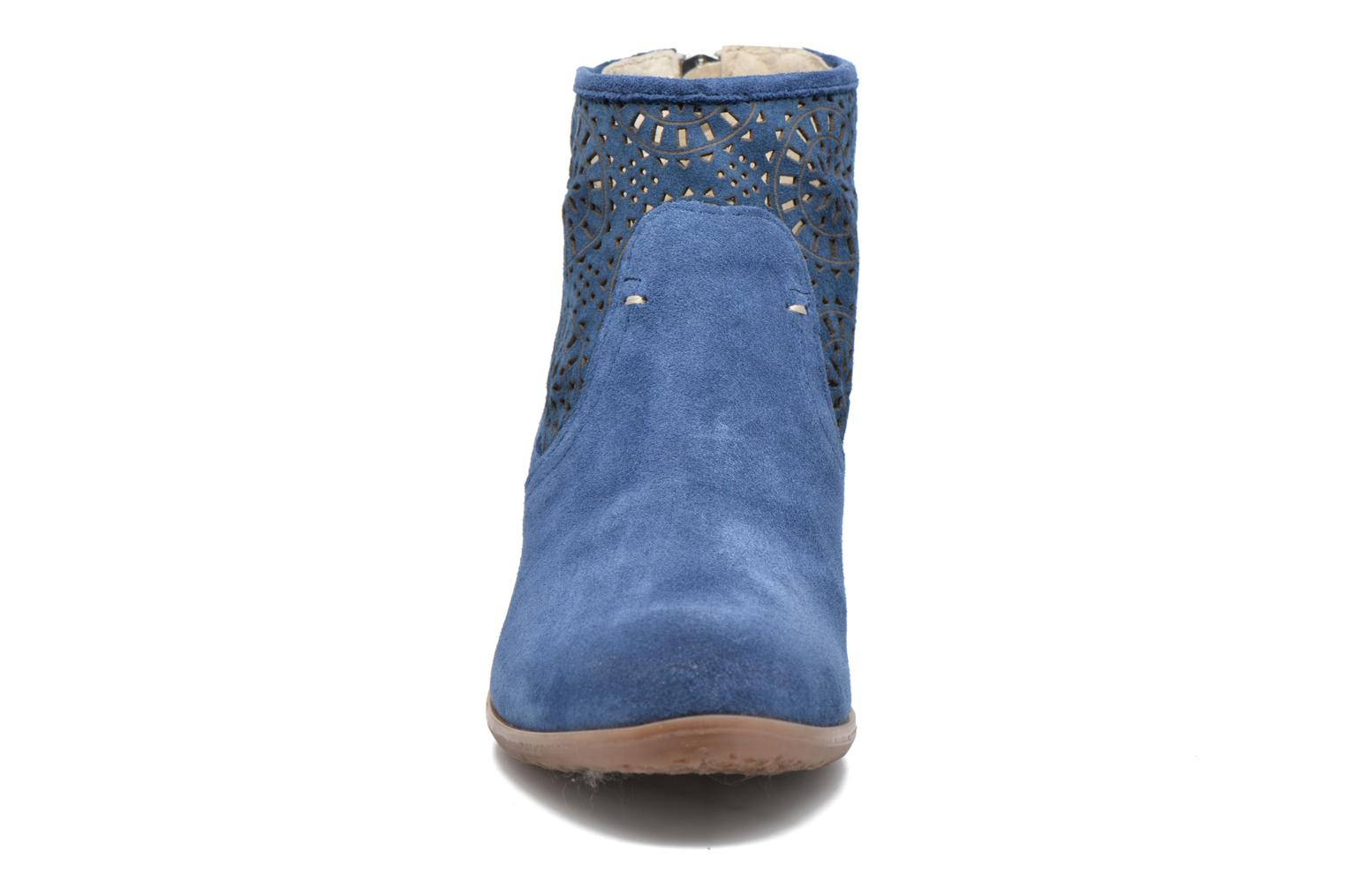 Ankle boots Khrio Aeligana Blue model view