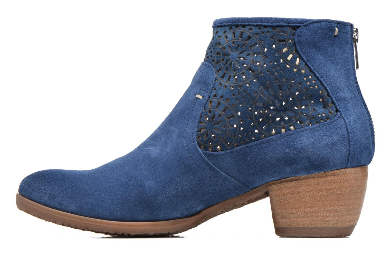 Bottines et boots Khrio Aeligana Bleu vue face