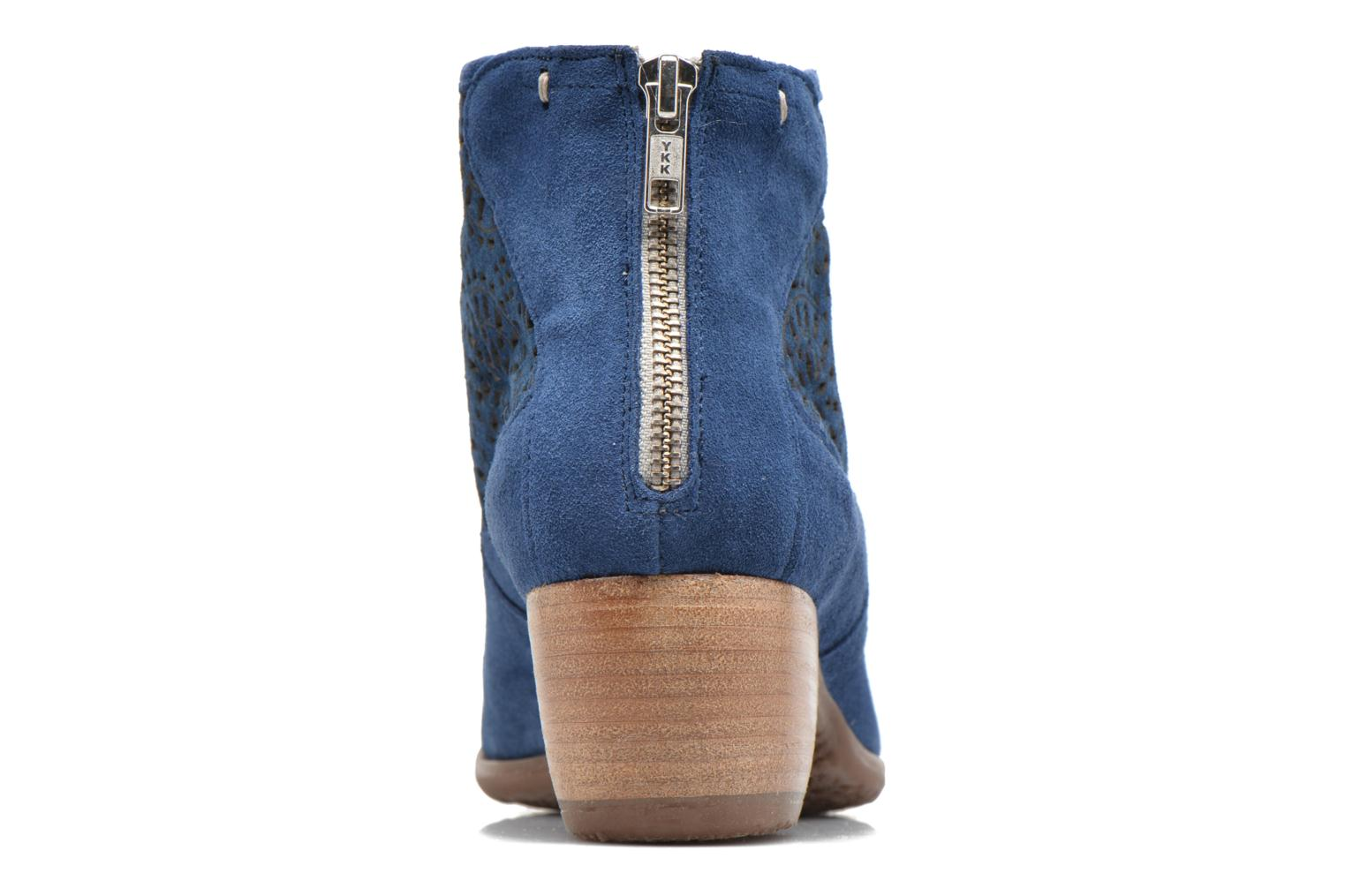 Ankle boots Khrio Aeligana Blue view from the right