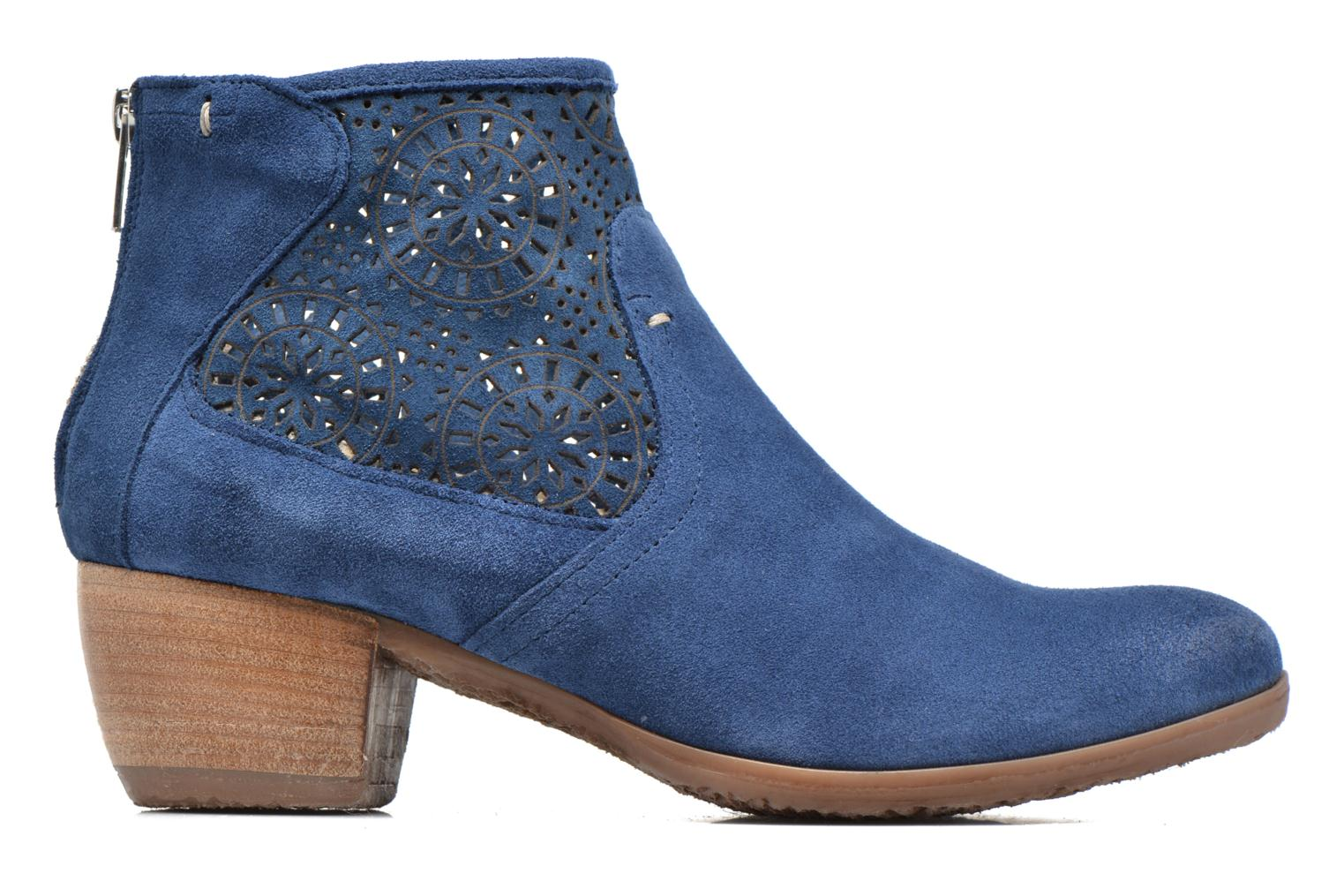 Ankle boots Khrio Aeligana Blue back view