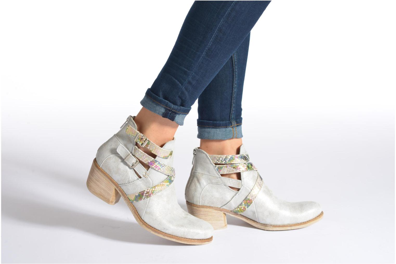 Bottines et boots Khrio Livana Or et bronze vue bas / vue portée sac