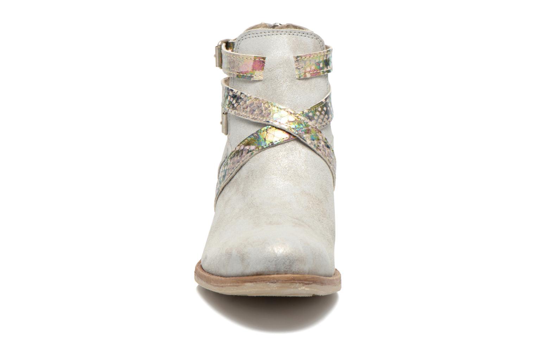 Bottines et boots Khrio Livana Or et bronze vue portées chaussures