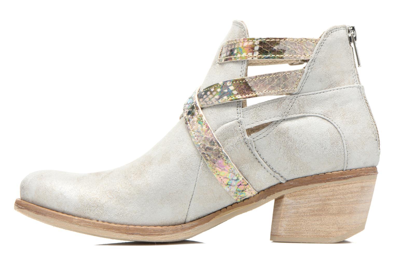 Bottines et boots Khrio Livana Or et bronze vue face