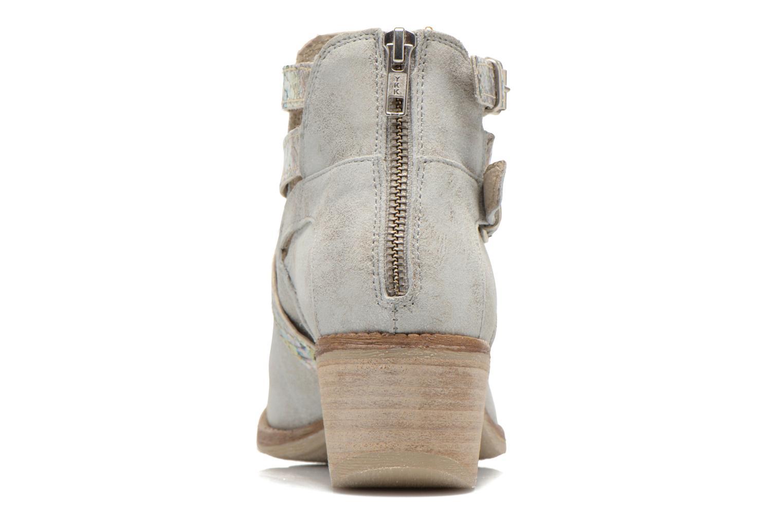 Bottines et boots Khrio Livana Or et bronze vue droite