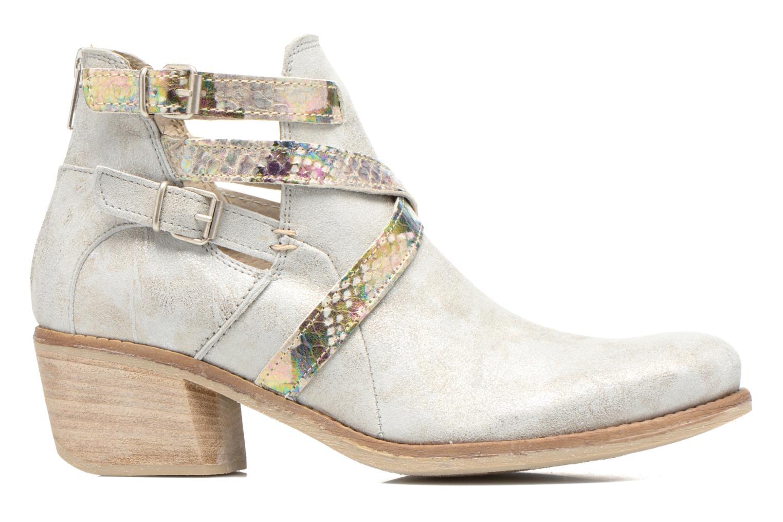 Bottines et boots Khrio Livana Or et bronze vue derrière