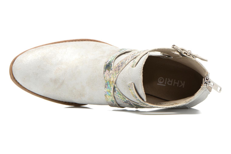 Bottines et boots Khrio Livana Or et bronze vue gauche
